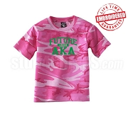 Future AKA Camo T-shirt - EMBROIDERED with Lifetime Guarantee