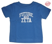 Future Zeta (Zeta Phi Beta) T-shirt - EMBROIDERED with Lifetime Guarantee