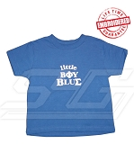 Little Boy Blue Phi Beta Sigma T-shirt - EMBROIDERED with Lifetime Guarantee