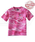 Pretty in Pink Alpha Kappa Alpha Camo - EMBROIDERED with Lifetime Guarantee