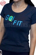GQ! FIT T-Shirt - EMBROIDERED with Lifetime Guarantee