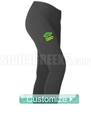 Custom Screen Printed Greek Athletic Leggings with Icon - ANY ORGANIZATION AVAILABLE (BC)