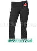 Custom Screen Printed Greek Athletic Yoga Pants with Icon - ANY ORGANIZATION AVAILABLE (BC)