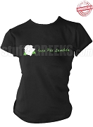 Iota Phi Lambda T-Shirt with Rose and Organization Name, Black - EMBROIDERED with Lifetime Guarantee