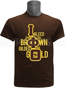 Iota Phi Theta I Bleed Screen Printed T-Shirt, Brown