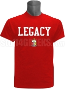 Kappa Alpha Psi Screen Printed Legacy T-Shirt, Red