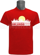 Kappa Alpha Psi 2017 Orlando Conference Screen Printed T-Shirt, Red