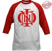 Kappa Alpha Psi Baseball Raglan T-Shirt with Phi Nu Pi Icon - EMBROIDERED with Lifetime Guarantee