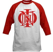 Kappa Alpha Psi Screen Printed Baseball Raglan T-Shirt with Phi Nu Pi Icon