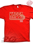KAPPA Kane 1911 T-Shirt - EMBROIDERED with Lifetime Guarantee