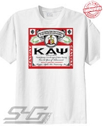 Kappa Bud Label T-Shirt - EMBROIDERED with Lifetime Guarantee