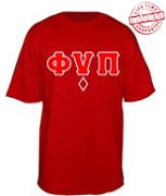 Phi Nu Pi Diamond T-Shirt - EMBROIDERED with Lifetime Guarantee