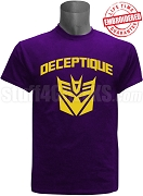Omega Psi Phi DeceptiQUE Shirt, Purple - EMBROIDERED with Lifetime Guarantee
