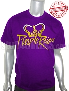 Omega Psi Phi Purple Reign T-Shirt, Purple - EMBROIDERED with Lifetime Guarantee