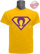 Gold Super Que T-Shirt - EMBROIDERED with Lifetime Guarantee
