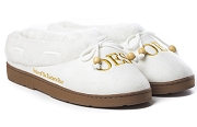 Order of the Eastern Star Slippers, White