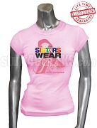 OES Pink Ribbon Breast Cancer Awareness T-Shirt, Pink - EMBROIDERED with Lifetime Guarantee