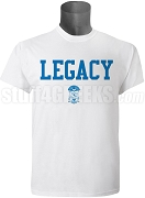 Phi Beta Sigma Screen Printed Legacy T-Shirt, White