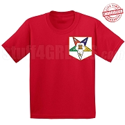 OES Fatal Star Faux Pocket T-shirt - EMBROIDERED with Lifetime Guarantee