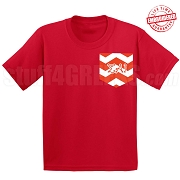 SAI Chevron Faux Pocket T-Shirt - EMBROIDERED with Lifetime Guarantee