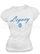 Zeta Phi Beta Screen Printed Legacy T-Shirt, White