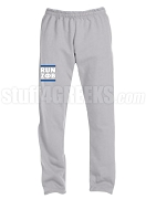 Zeta Phi Beta Run DMC Screen Printed Sweatpants, Sports Grey (AB)