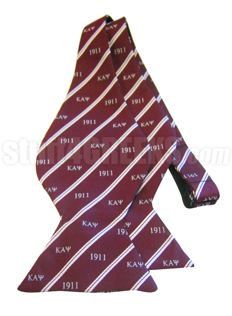 Kappa alpha psi bow tie with greek letters and founding year zoom biocorpaavc Images