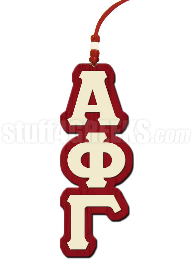 Alpha phi gamma greek letter tiki necklace alpha phi gamma tiki biocorpaavc Gallery