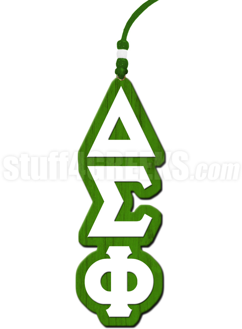 Delta sigma phi greek letter tiki necklace delta sigma phi tiki biocorpaavc Choice Image