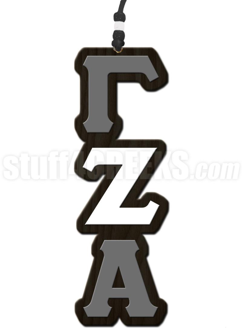 Gamma zeta alpha greek letter tiki necklace gamma zeta alpha tiki buycottarizona