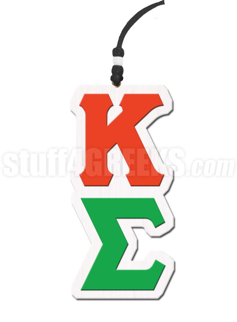 Kappa Sigma Greek Letter Tiki Necklace