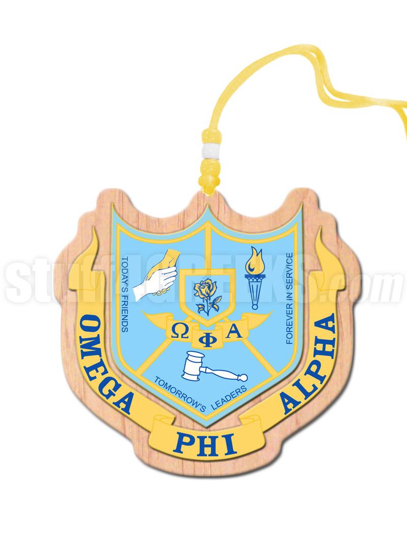 Omega Phi Alpha Crest Tiki Necklace
