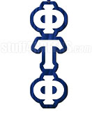 Phi Tau Phi Greek Letter Tiki Necklace