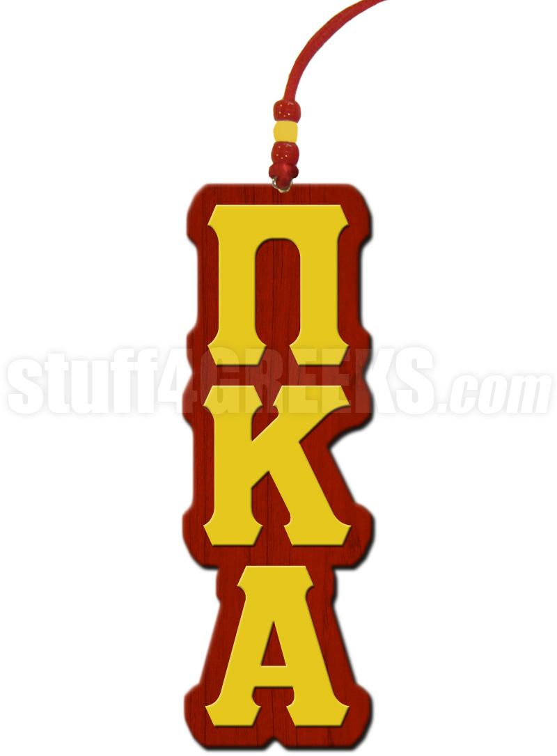Pi kappa alpha greek letter tiki necklace voltagebd Gallery