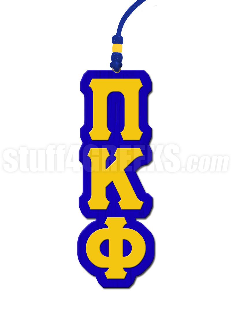 Pi Kappa Phi Greek Letter Tiki Necklace
