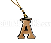 Alpha Angels Tiki Letter Necklace with Halo