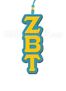 Zeta Beta Tau Greek Letter Tiki Necklace