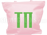 AKA Tau Pi Chapter Tote Bag, Pink