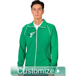 Personalized Embroidered Mens Track Jacket