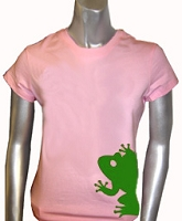 AKA Mascot Screen Printed T-Shirt, Pink