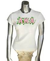 AKA Vines Screen Printed T-Shirt, White