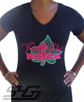 AKA Pretty Girl Rock, Black Screen Printed T-Shirt