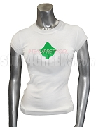 Alpha Kappa Alpha Tweet Team Screen Prined T-Shirt, White