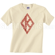 Kappa Alpha Psi Diamond DTG Printed T-Shirt, Natural - Designs by Krunkite