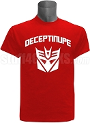 Kappa Alpha Psi DeceptiNUPE Screen Printed T-Shirt, Red
