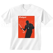 iPledged Kappa Alpha Psi Screen Printed T-Shirt, White
