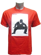 Kappa Alpha Psi Shimmy iPledged Screen Printed T-Shirt, Red