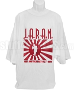 J.A.P.A.N. Screen Printed T-Shirt, White