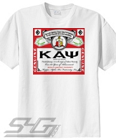 Kappa Bud Label Screen Printed T-Shirt