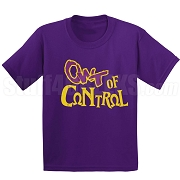 OWT of Control Screen Printed T-Shirt, Purple